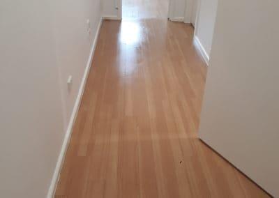 Indoor cleaning light timber floor boards